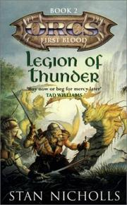 Cover of: Legion of Thunder (ORCS: First Blood, Book 2) (Orcs) | Stan Nicholls
