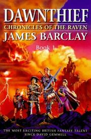 Cover of: Dawnthief: Book One | James Barclay