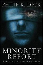 Cover of: Minority Report (Gollancz)