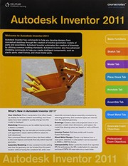 Cover of: Inventor Coursenotes 2011 for Banach/Jones' Autodesk Inventor 2011 Essentials Plus