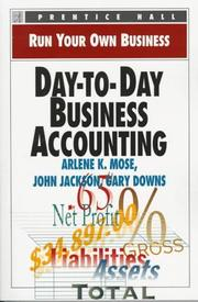 Cover of: Day-to-day business accounting