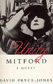 Cover of: Unity Mitford