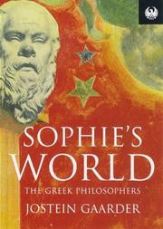 Cover of: Sophie's World - The Greek Philosofers