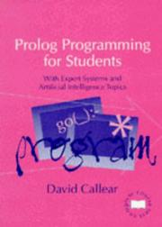 Cover of: PROLOG Programming for Students (Complete Course Texts) | D. H. Callear