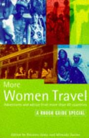 Cover of: More women travel