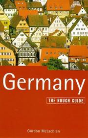 Cover of: The Rough Guide to Germany