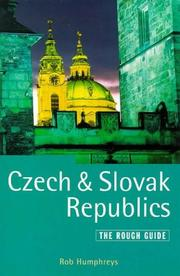 Czech and Slovak Republics by Rob Humphreys