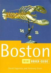 Cover of: Boston | David Fagundes