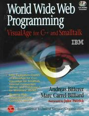 Cover of: World Wide Web Programming | Andreas Bitterer