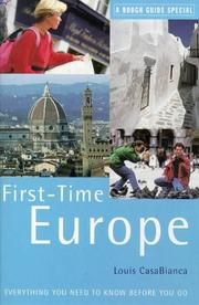 Cover of: Rough Guide First-time Europe  | Louis CasaBianca