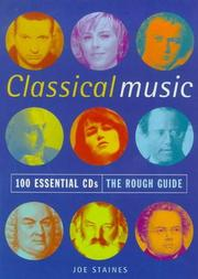 Cover of: The Rough Guide to Classical Music | Joe Staines