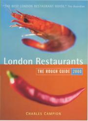 Cover of: The Rough Guide to London Restaurants, 2nd Edition (London Restaurants (Rough Guides))