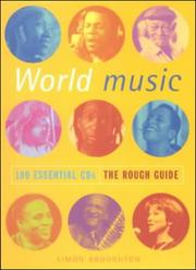 Cover of: The Rough Guide to World 100 Essential CDs | Simon Broughton