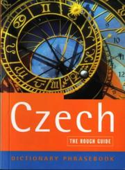 Cover of: The Rough Guide to Czech Dictionary Phrasebook (Rough Guide Phrasebooks) | Lexus