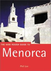 Cover of: The Mini Rough Guide to Menorca | Phil Lee