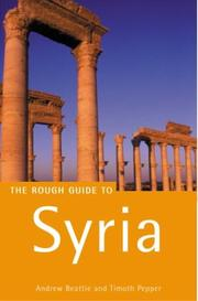 Cover of: The Rough Guide to Syria | Andrew Beattie