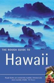 Cover of: The Rough Guide to Hawaii 3 | Greg Ward