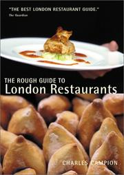 Cover of: The Rough Guide to London Restaurants Mini (London Restaurants (Rough Guides))