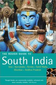 Cover of: The Rough Guide to South India (2nd Edition) | David Abram