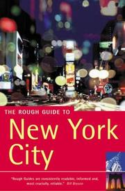 Cover of: The Rough Guide to New York City | Martin Dunford