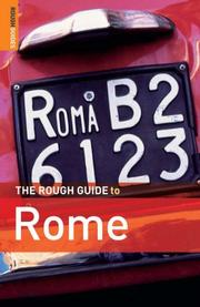 Cover of: The Rough Guide to Rome | Martin Dunford