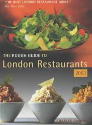 Cover of: The Rough Guide London Restaurants 5 (Rough Guide London Restaurants)