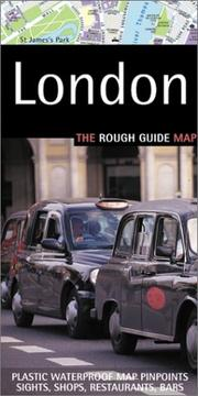 Cover of: The Rough Guide London Map