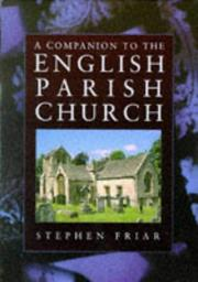 Cover of: Companion to the English Parish Church, A