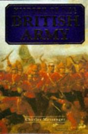 Cover of: History of the British Army
