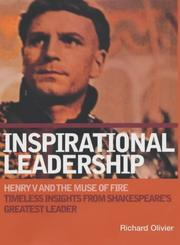 Cover of: Inspirational Leadership