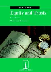 Cover of: Equity and Trusts Textbook