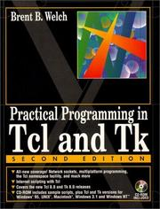 Cover of: Practical programming in Tcl & Tk | Brent B. Welch