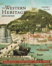 Cover of: Western Heritage, The, Vol. I (to 1715; Chpts. 1-15)