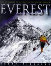Cover of: Everest:Struggle To Reach The Top