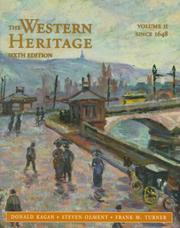 Cover of: Western Heritage, The Vol. II (Since 1648; Chpts. 13-31)