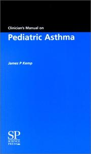 Cover of: Clinician's Manual on Pediatric Asthma