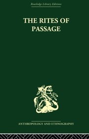 Cover of: The Rites of Passage | Arnold van Gennep