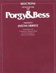 Cover of: Selections for Violin and Piano from Porgy & Bess (Essential Musicals)