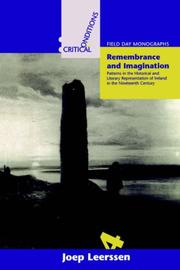 Cover of: Remembrance and Imagination