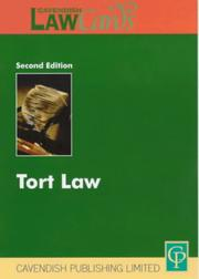 Cover of: Tort (Lawcards)