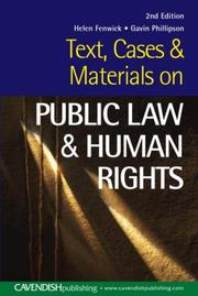 Cover of: Sourcebook on Public Law, 2nd Edition (Sourcebook Series)