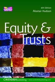 Cover of: Equity & Trusts