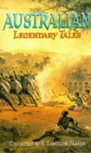Cover of: Australian Legendary Tales
