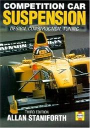 Cover of: Competition Car Suspension