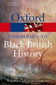 Cover of: The Oxford Companion to Black British History | David Dabydeen, John Gilmore, Cecily Jones