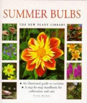 Cover of: Summer Bulbs (New Plant Library) (New Plant Library) | Peter McHoy