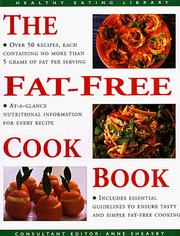 Cover of: Fat Free Cookbook (The Healthy Eating Library)