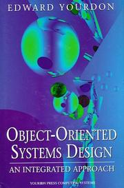 Cover of: Object-Oriented Systems Design