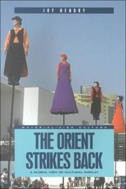 Cover of: The Orient Strikes Back: A Global View of Cultural Display (Materializing Culture)