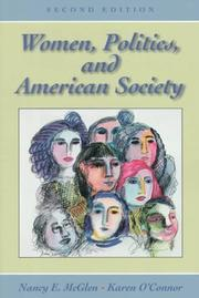 Cover of: Women, politics, and American society